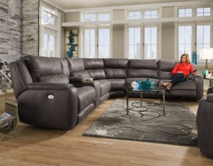 Southern Motion Dazzle Sectional - Made in U.S.A.
