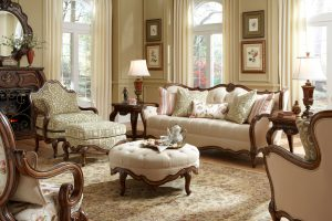 AICO Lavelle Melange Living Room Set